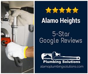 Alamo Heights Plumber - Plumbing Company Google Reviews